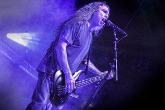 Slayer's Tom Araya at Jones Beach July 29, 2018
