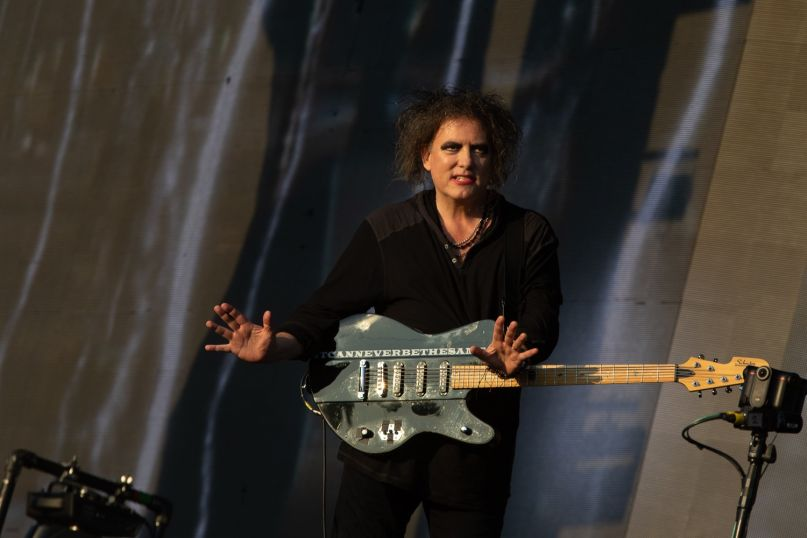 The Cure, Hyde Park,