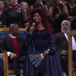 "Video Chaka Khan ""Goin Up Yonder"" Aretha Franklin funeral"