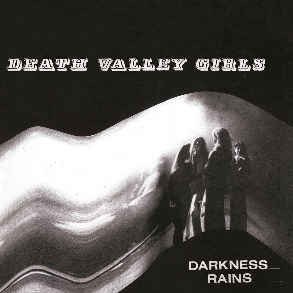 Death Valley Girls Darkness Rains Album Cover Artwork