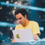 Four Tet Live at Funkhaus Berlin, 10th May 2018 Live Album Photo by Ellie Pritts