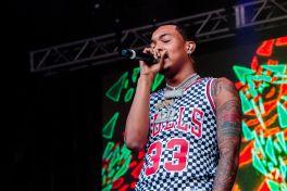 G Herbo, Lollapalooza 2018, photo by Caroline Daniel