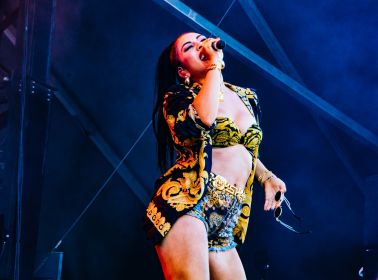 Kali Uchis, Osheaga 2018, photo by Lior Phillips