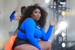 Lizzo, Lollapalooza 2018, photo by Heather Kaplan