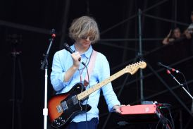 Parquet Courts, Lollapalooza 2018, photo by Heather Kaplan
