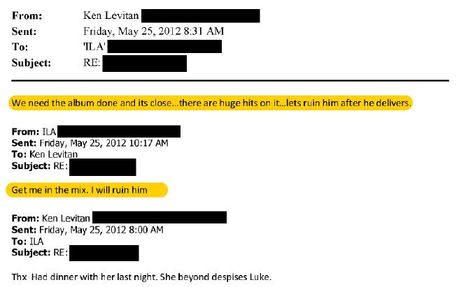 kesha dr luke 2 Katy Perry denies Dr. Luke raped her in unsealed Kesha deposition