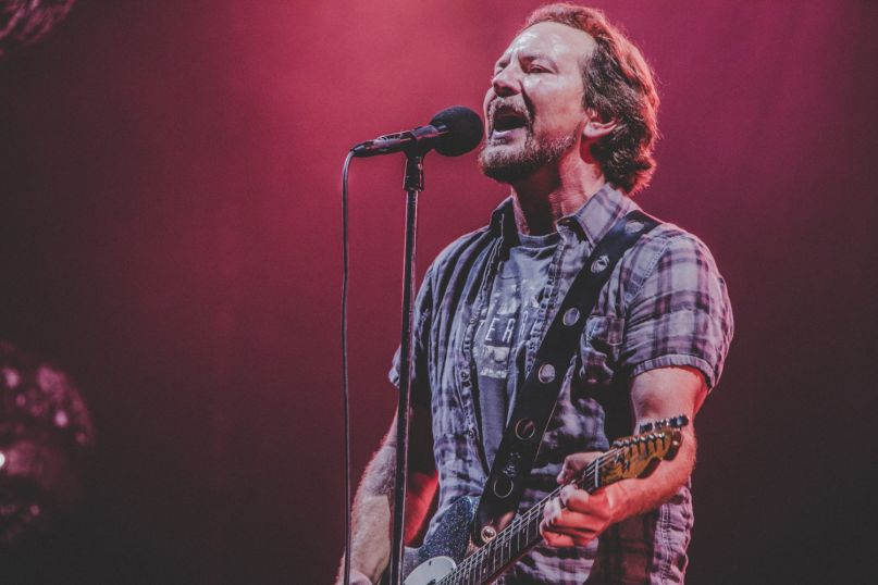 Pearl Jam at Wrigley Field, Photo by Lior Phillips