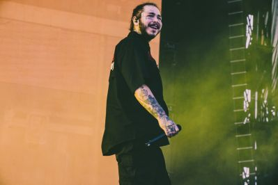 Post Malone, Osheaga 2018, photo by Lior Phillips