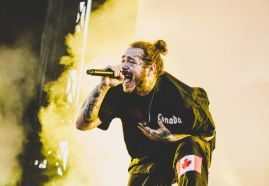 Post Malone, photo by Lior Phillips