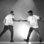 "Watch Drake and Travis Scott ""Sicko Mode"" Scotiabank Arena Toronto"