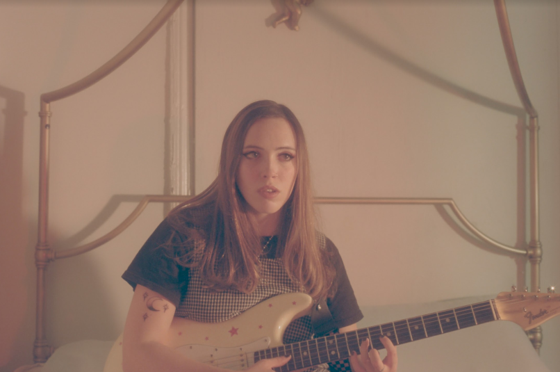 Soccer Mommy Natalia Mantini Bruce Spingsteen I'm On Fire Cover Single