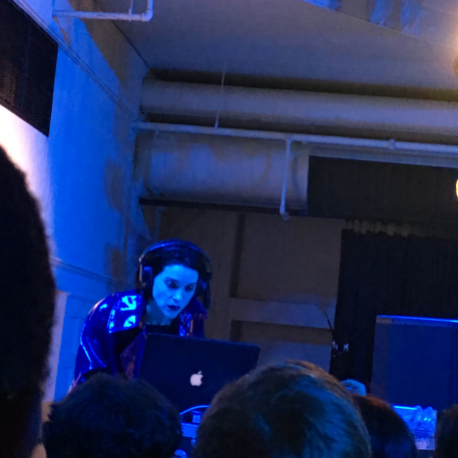 St. Vincent, DJ Set, photo by Michael Roffman