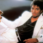 Thriller suit cover reissue 60th birthday