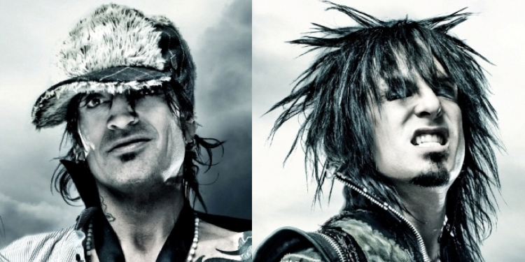Tommy Lee and Nikki Sixx