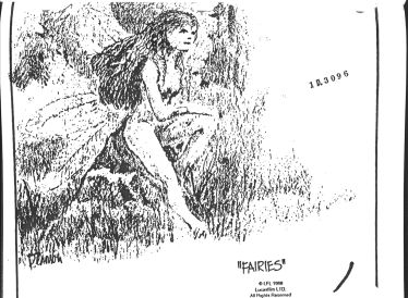 willow fairies concept art