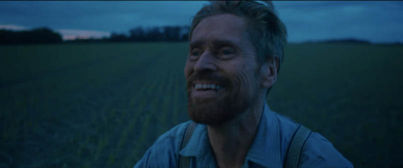 at eternity's gate van gogh willem dafoe trailer
