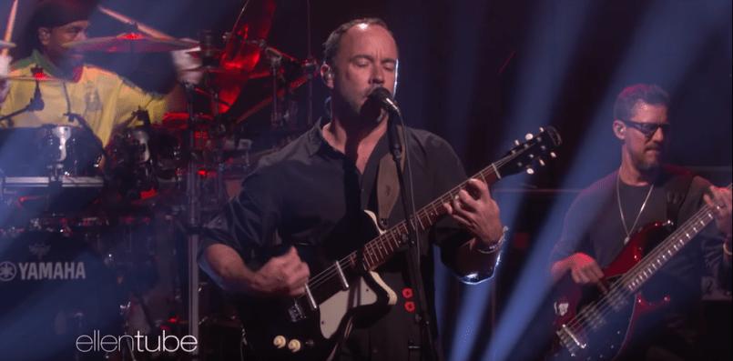 Dave Matthews Band Performs 'Samurai Cop (Oh Joy Begin)' The Ellen Show