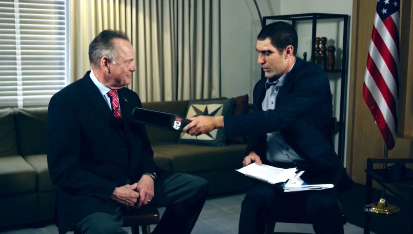 Judge Roy Moore Sacha Baron Cohen Lawsuit Who is America Pedophile