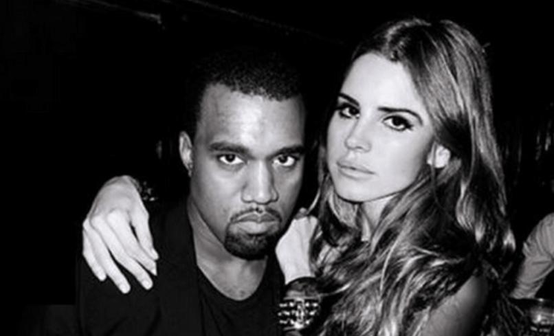 Kanye and Lana Del Rey