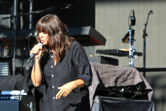 Cat Power, Riot Fest 2018, photo by Heather Kaplan