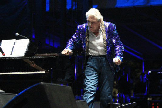 Jerry Lee Lewis, Riot Fest 2018, photo by Heather Kaplan