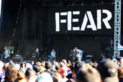 FEAR, Riot Fest 2018, photo by Heather Kaplan