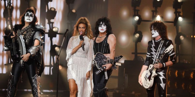 KISS on America's Got Talent