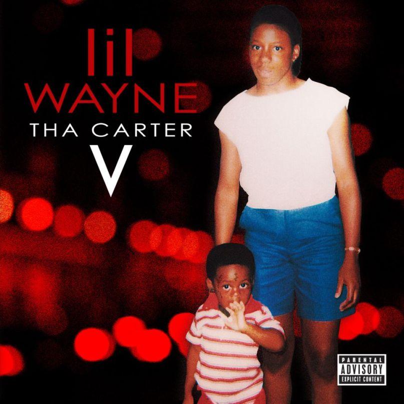 Lil Wayne Tha Carter V artwork