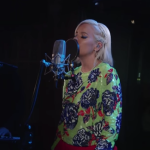 "Watch Lily Allen cover Lykke Li ""deep end"" for triple j"