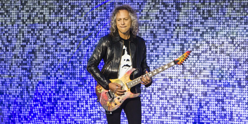 Metallica's Kirk Hammett