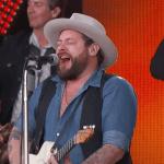"Video Nathaniel Rateliff & The Night Sweats ""A Little Honey"" on Jimmy Kimmel Live!"