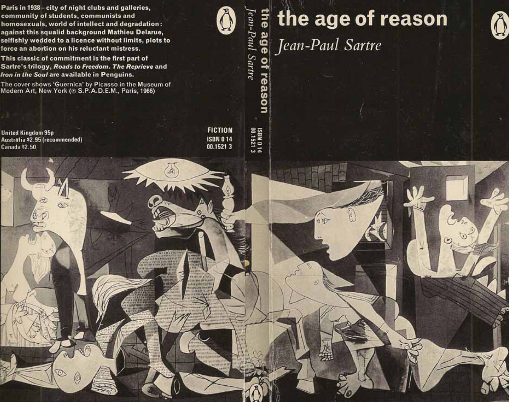 the age of reason jean paul sartre book cover methyl ethyl