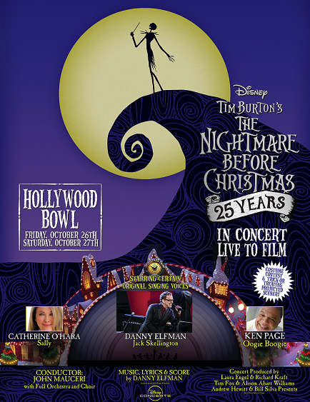 nightmare before christmas staging danny elfman