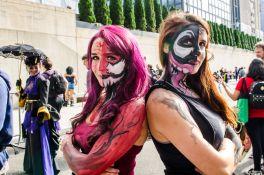 Carnage Venom face paint New York Comic Con 2018 Ben Kaye-43