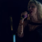 """Courtney Love plays """"Celebrity Skin"""" with 1,500 musicians"""