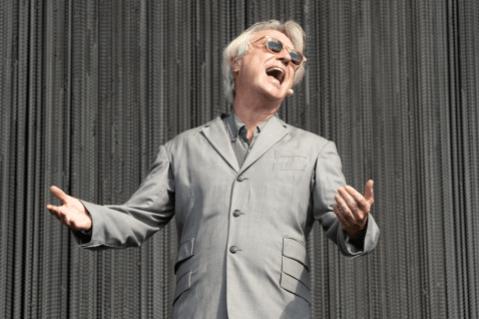 David Byrne, Austin City Limits 2018, photo by Amy Price