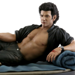 Dr Ian Malcolm Jeff Goldblum shirtless statue Chronicle Collectibles