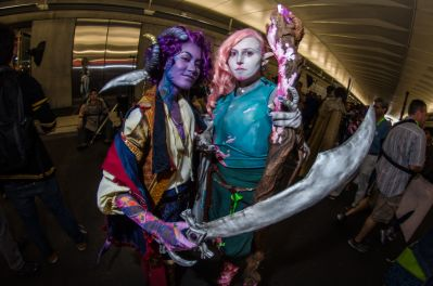 Dungeons and Dragons Critical Role Mollymauk Tealeaf Caduceus Clay New York Comic Con 2018 Ben Kaye-117