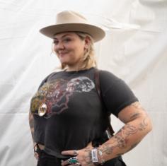 Elle King, Austin City Limits 2018, photo by Amy Price