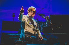 Elton John, Chicago, photo by Lior Phillips