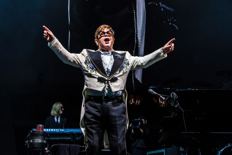 elton john 86 lior phillips Live Review: Elton John Says Goodbye to Chicago With Tears, Memories, and Jams (10/26)