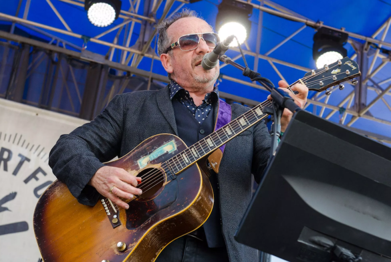 elvis costello the imposters look now