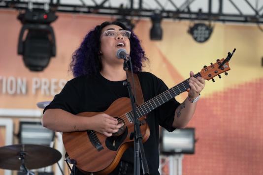 Fatai, Austin City Limits 2018, photo by Amy Price