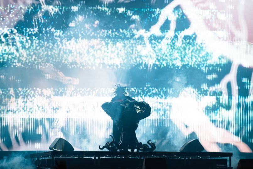Flying Lotus, Adult Swim Festival, photo by Adult Swim