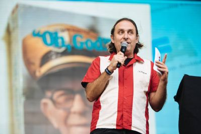 Gregg Turkington, Adult Swim Festival, photo by Adult Swim