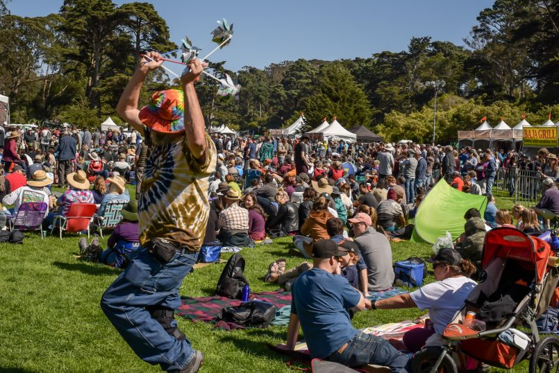 Hardly Strictly Bluegrass Audience (Photo by Kristen Wrzesniewski)