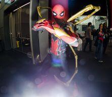 Iron Spider-Man New York Comic Con 2018 Ben Kaye-6