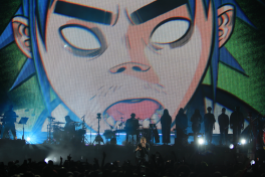 Gorillaz, photo by Heather Kaplan