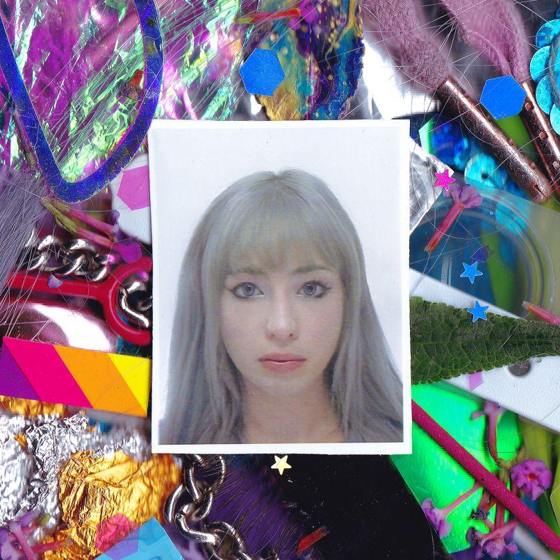 Kero Kero Bonito - Time 'n' Place - Album Art