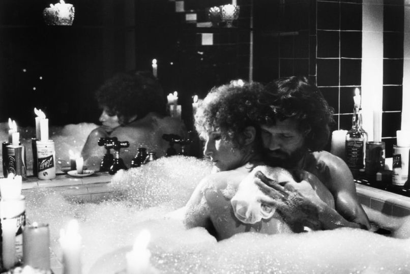 Kris Kristofferson and Barbara Streisand in A Star Is Born 1976